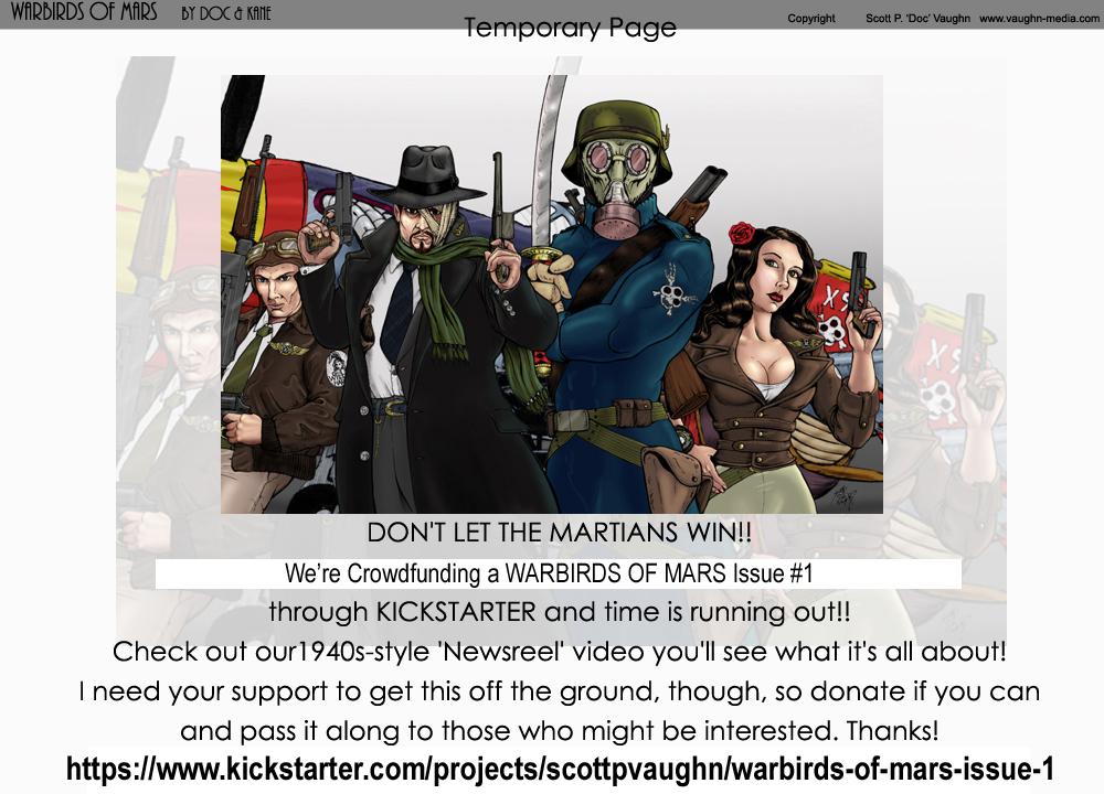 TEMPORARY PAGE - KICKSTARTER AD